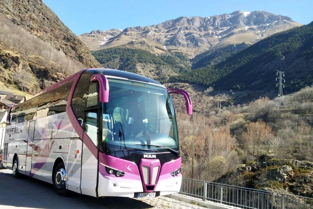 Autocar a Capdella, Vall Fosca